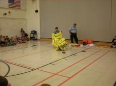 Mr. Kawaragi's Tiger Dance Performance