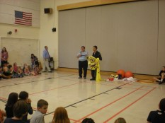 Mr. Herrick and Mr. Kawaragi during one of their performances this year